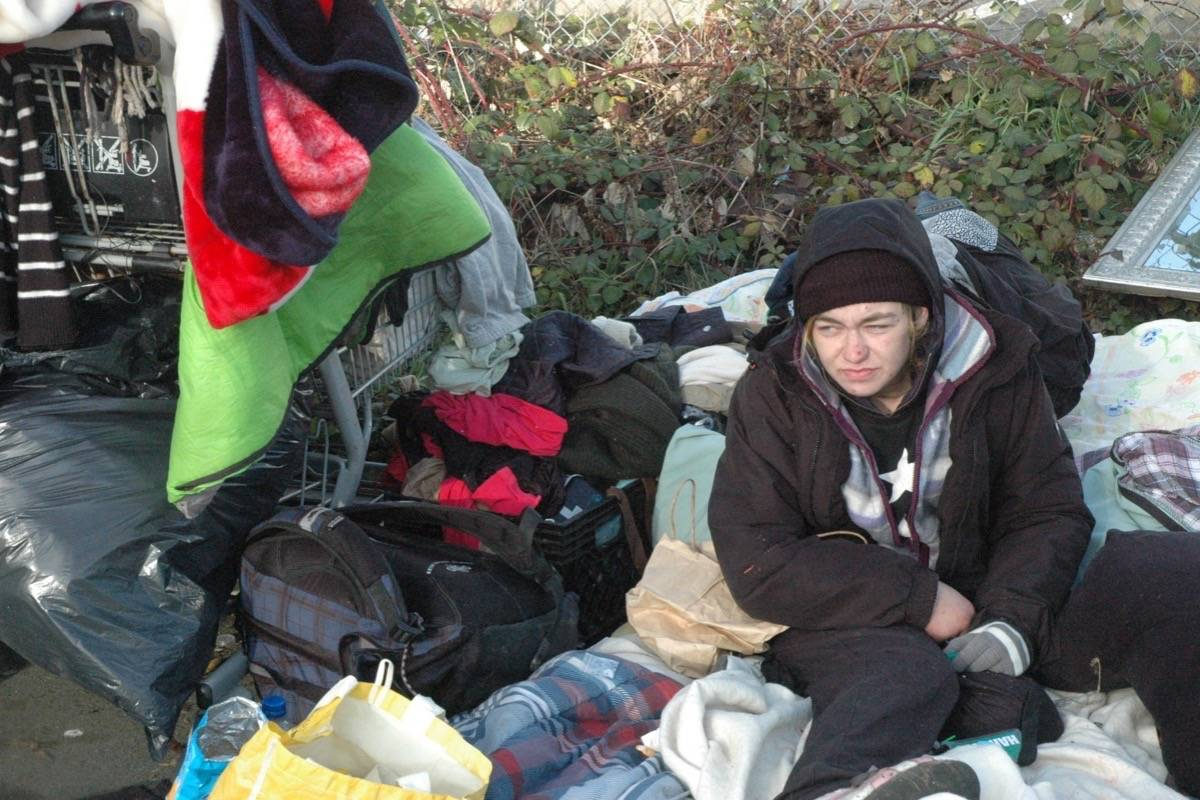 Officials move in on North Cowichan homeless camp