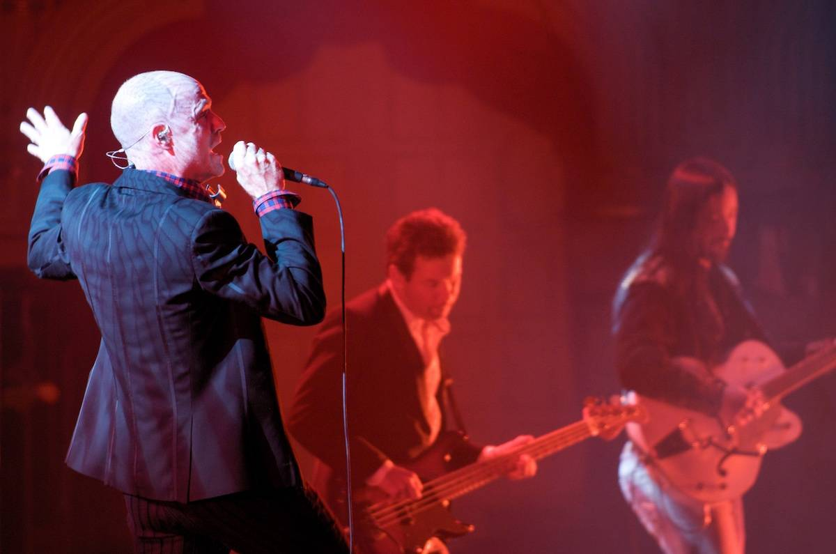 The Tragically Hip perform in B.C.: tickets for the band's farewell concert were snapped up as soon as they went on sale. (Scott Alexander/Pressphotointl.com)