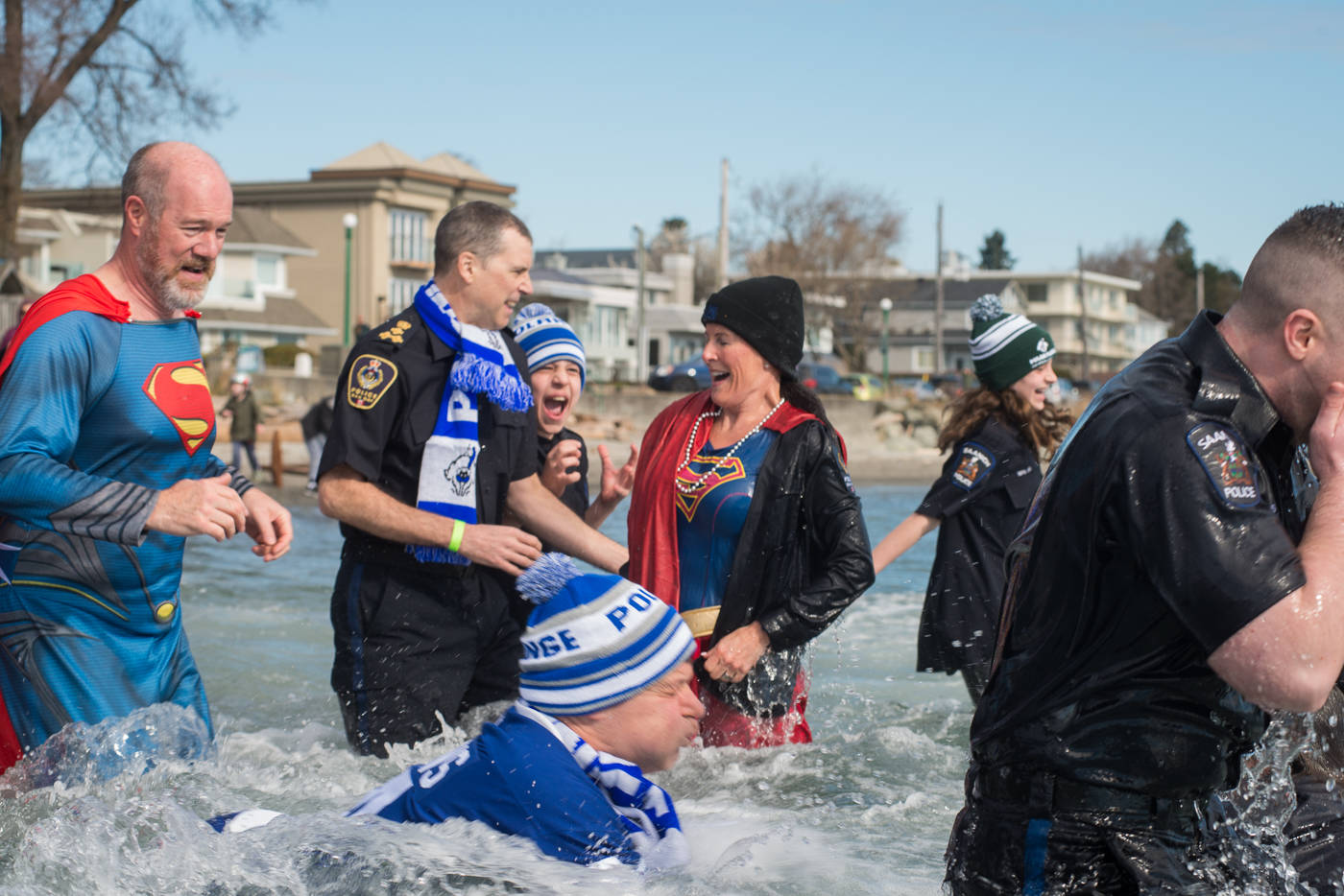 VIDEO: Polar plungers raise beyond $20,000 for Special Olympics BC
