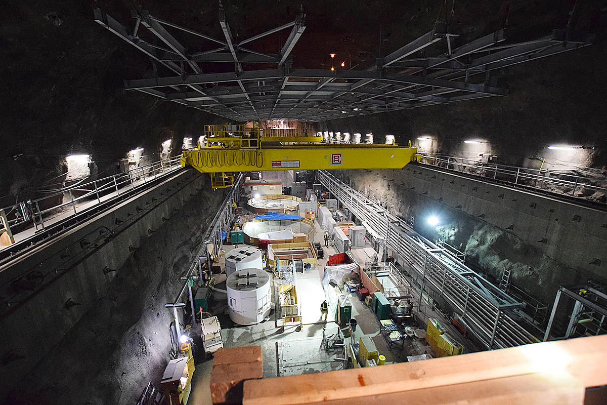Let the water flow: BC Hydro to flood John Hart generating station tunnels later this month