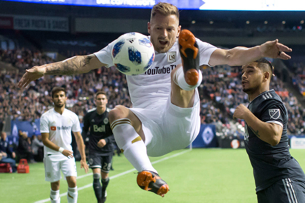 Whitecaps see home undefeated streak end in 2-0 loss to Los Angeles FC