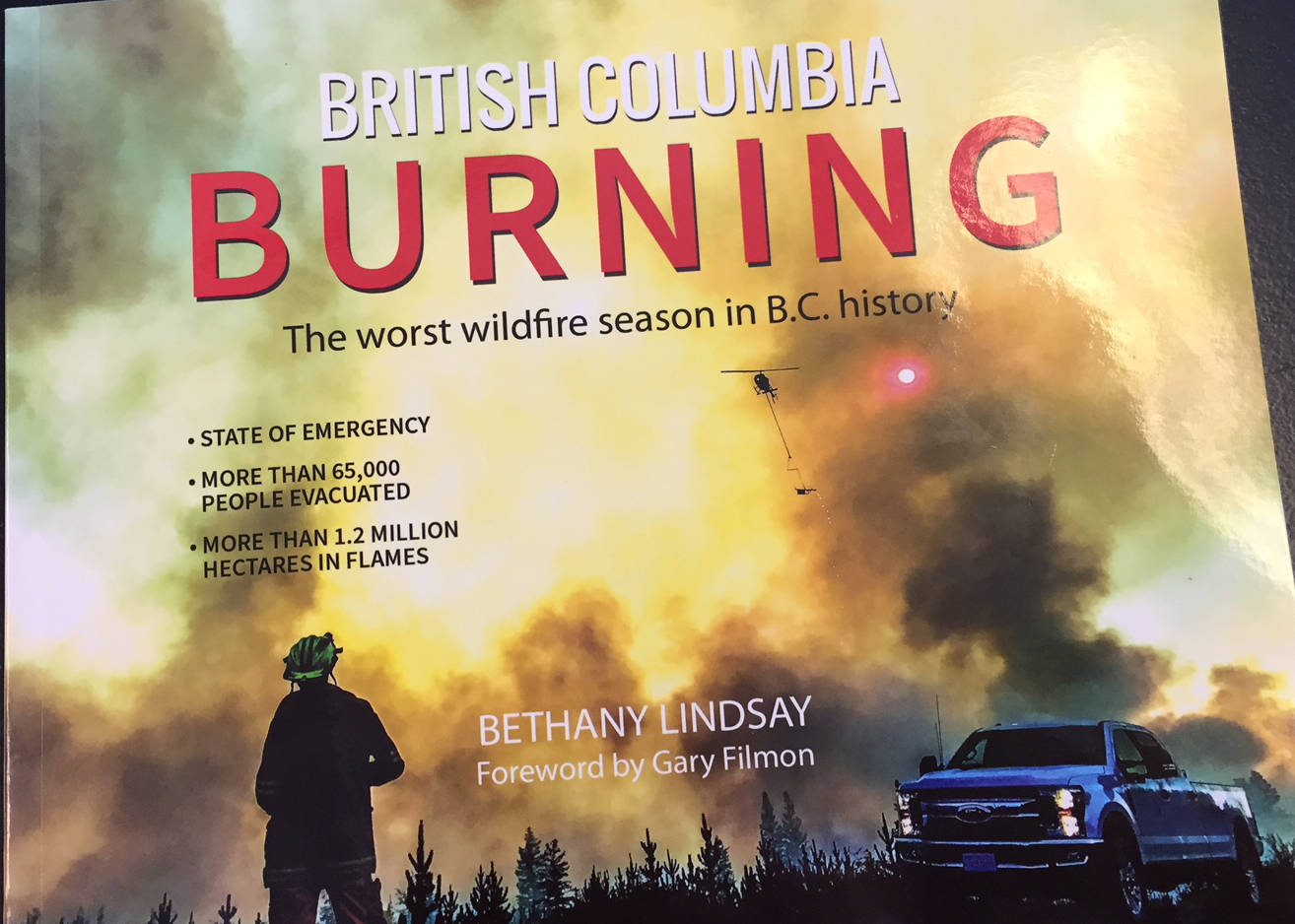 B.C.'s devastating 2017 wildfire season revisited in new book