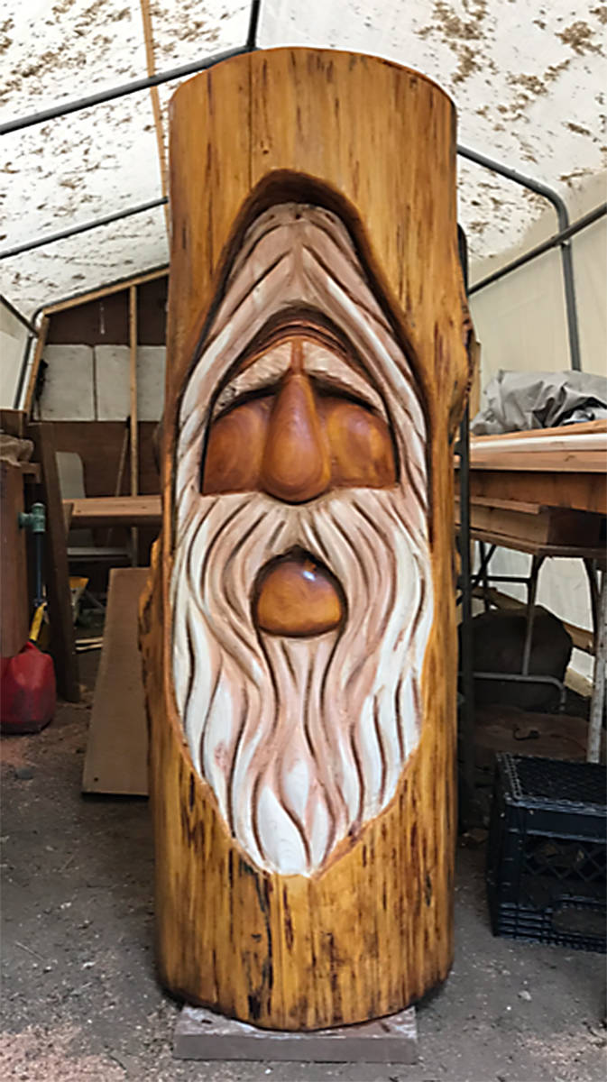 Valuable wood carving stolen from prominent cowichan valley carver