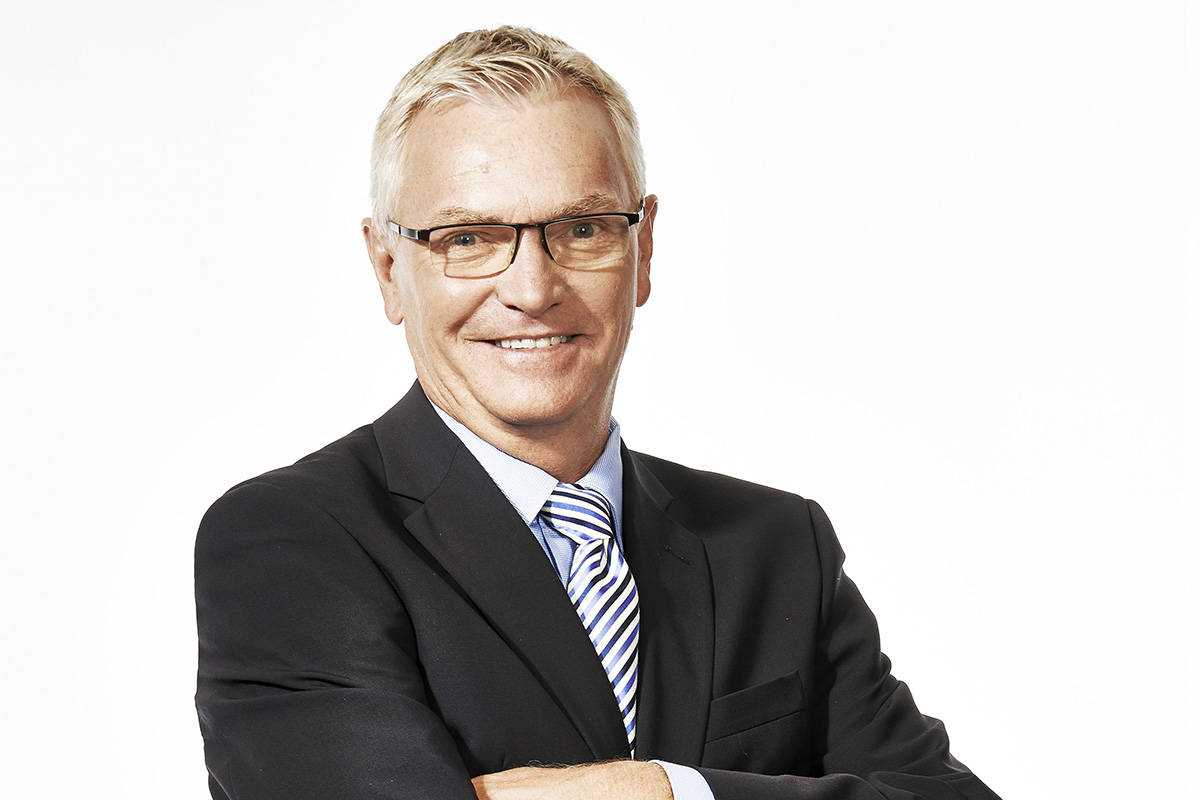 Jim Hughson was named the 2019 winner of the Hockey Hall of Fame's Foster Hewitt Memorial Award. (photo courtesy of Rogers Sportsnet)