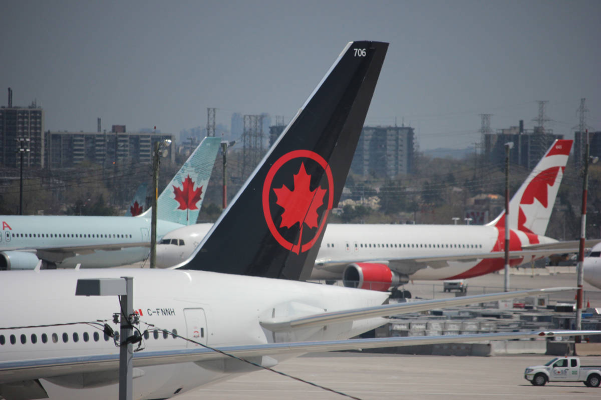 Air Canada's senior vice-president of Air Canada Express and government relations spoke to business people during an event hosted by the Greater Nanaimo Chamber of Commerce on Wednesday. (NEWS BULLETIN file photo)
