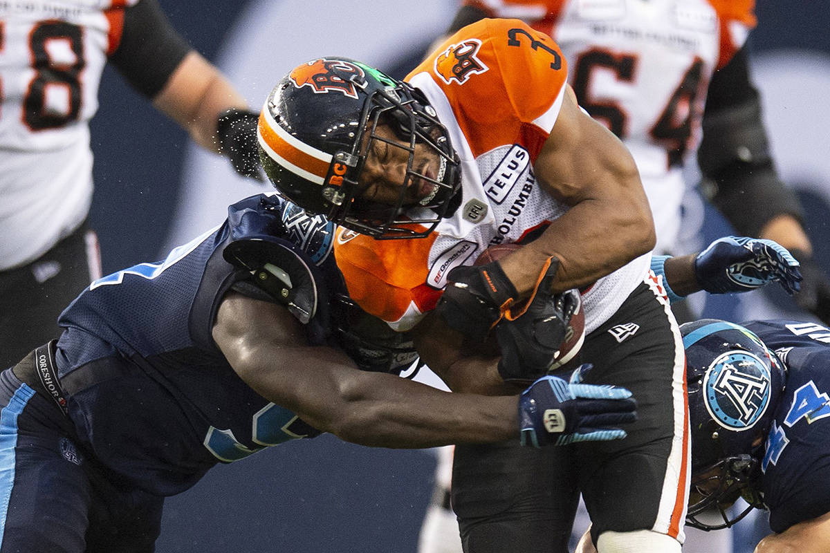 Single on game's final play gives B.C. Lions 18-17 win over Argos