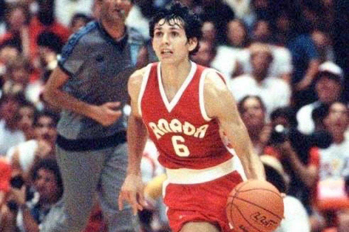 The star of the 1980s UVic Vikes basketball team Eli Pasquale died on Monday at 59 years old after a battle with cancer. (Eli Pasquale Basketball/Facebook)