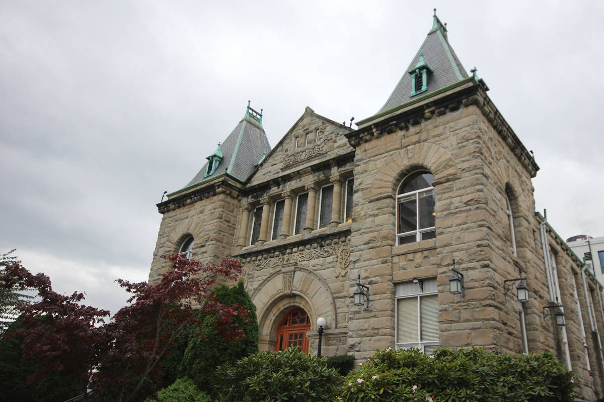 Courthouse in Nanaimo. (News Bulletin file)