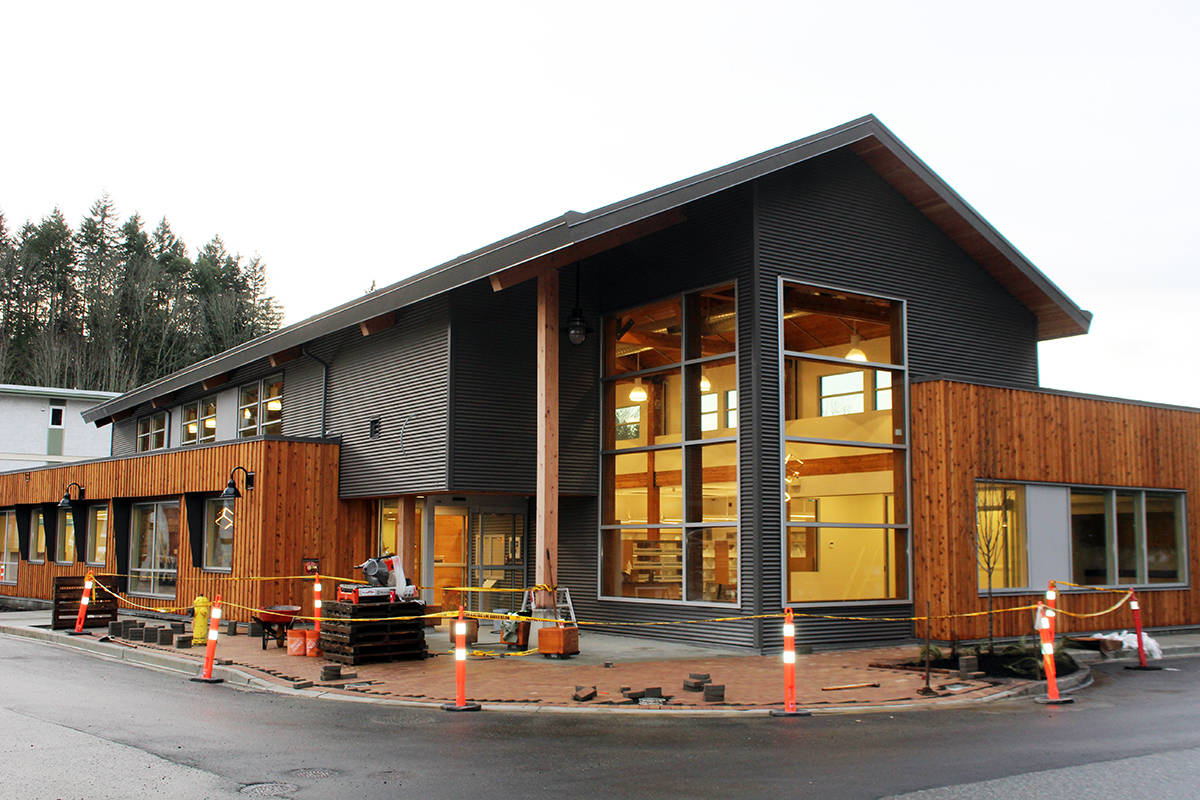 New Chemainus library opens to the public early next month