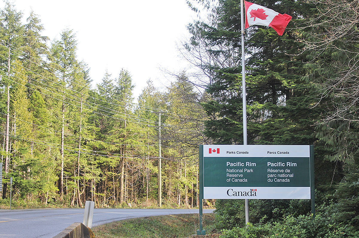 The Pacific Rim National Park Reserve is looking into adding new visitor kiosks on the highway between Tofino and Ucluelet. (Westerly file photo)
