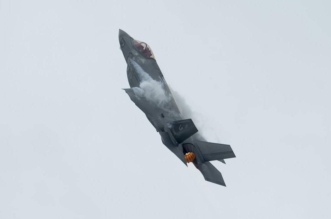The federal government has made another multimillion-dollar investment into the development of the F-35 stealth fighter despite no guarantee it will buy the aircraft. An F-35A Lightning II fighter jet practises for an air show appearance in Ottawa, Friday, Sept. 6, 2019. THE CANADIAN PRESS/Adrian Wyld