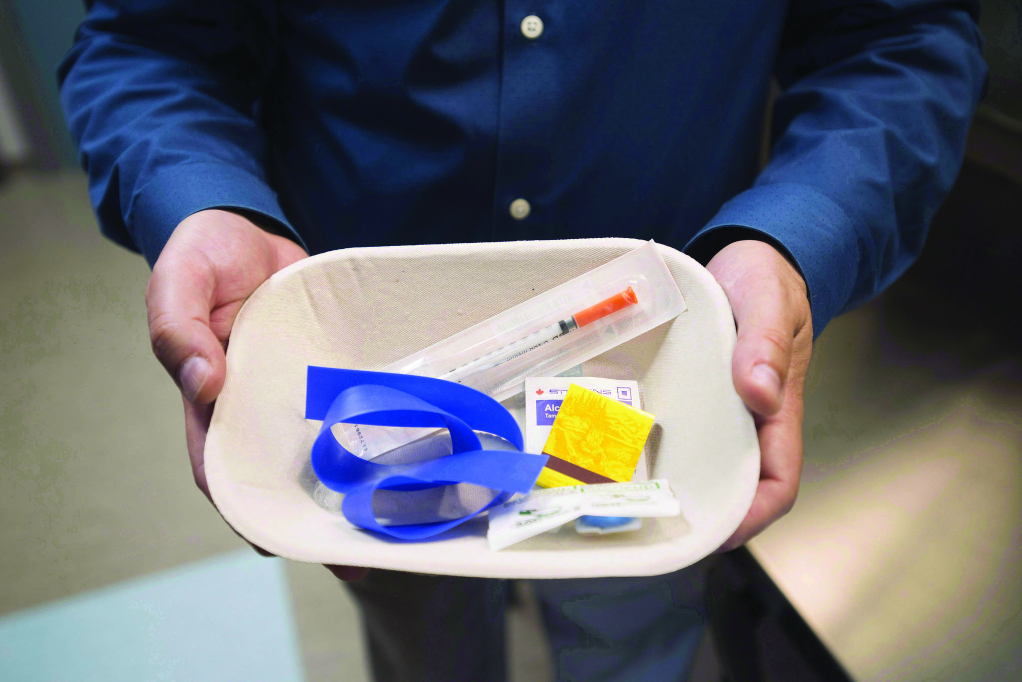 B.C. has recorded an uptick in overdose deaths in March 2020. (THE CANADIAN PRESS/Jonathan Hayward)