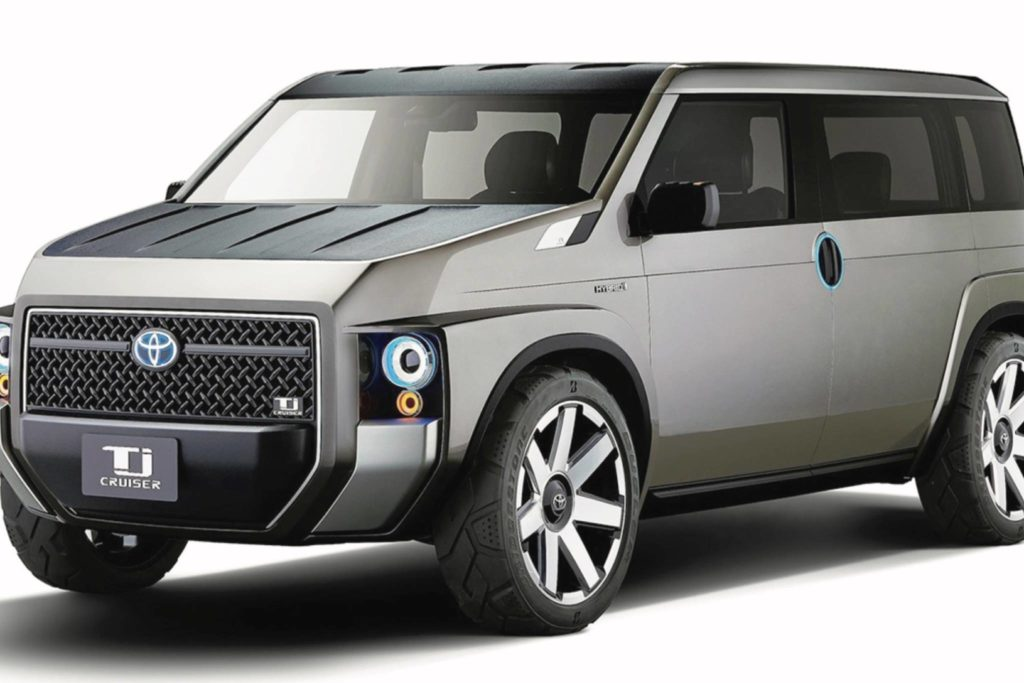 The Sleuth hears that Toyota is working in a minivan inspired by this TJ Cruiser concept. Photo: Toyota