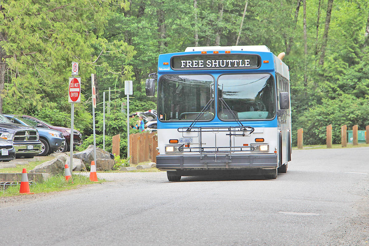 Tofino's summer shuttle service has been put on hiatus due to concerns around COVID-19. (Westerly News file photo)
