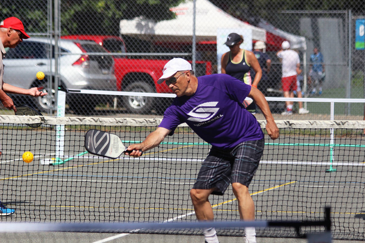Pickleball players will be missing their tournament action this year. (File photo by Don Bodger)