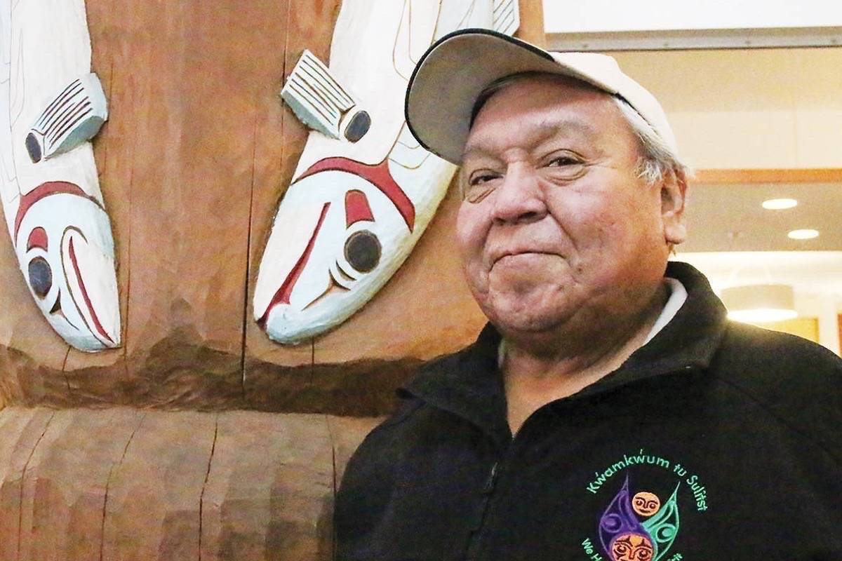 Cowichan Tribes Chief William Seymour said a First Nation man died at The Mound, one of five temporary tenting sites for the homeless set up in the Cowichan Valley, on June 26. (File photo)