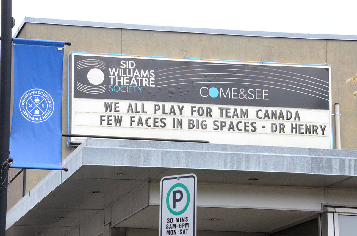 The Sid Williams Theatre is receiving some funding for livestream programming. Photo by Mike Chouinard