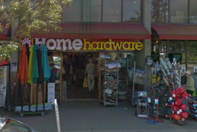 Victoria Police are investigating a report of an assault at the Oak Bay Home Hardware. (Google Maps)