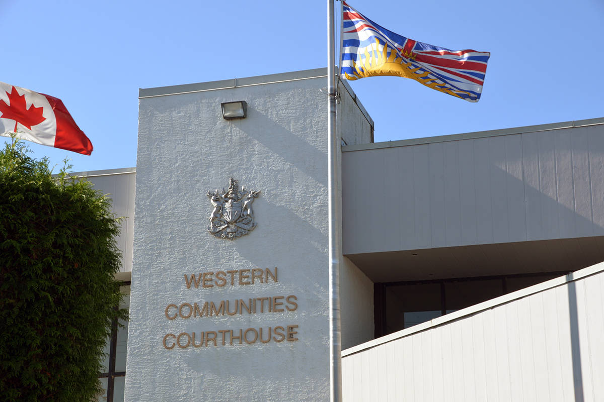 A Greater Victoria man was sentenced to one year in prison for a sexually assaulting a teen in 2017. (Nina Grossman/News Staff)