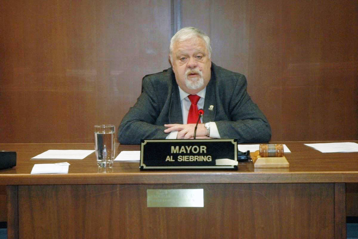 North Cowichan Mayor Al Siebring has expressed his frustration with harassment of people who have made racist comments online about Cowichan Tribes in the wake of a COVID-19 outbreak in the First Nation. (Citizen file)