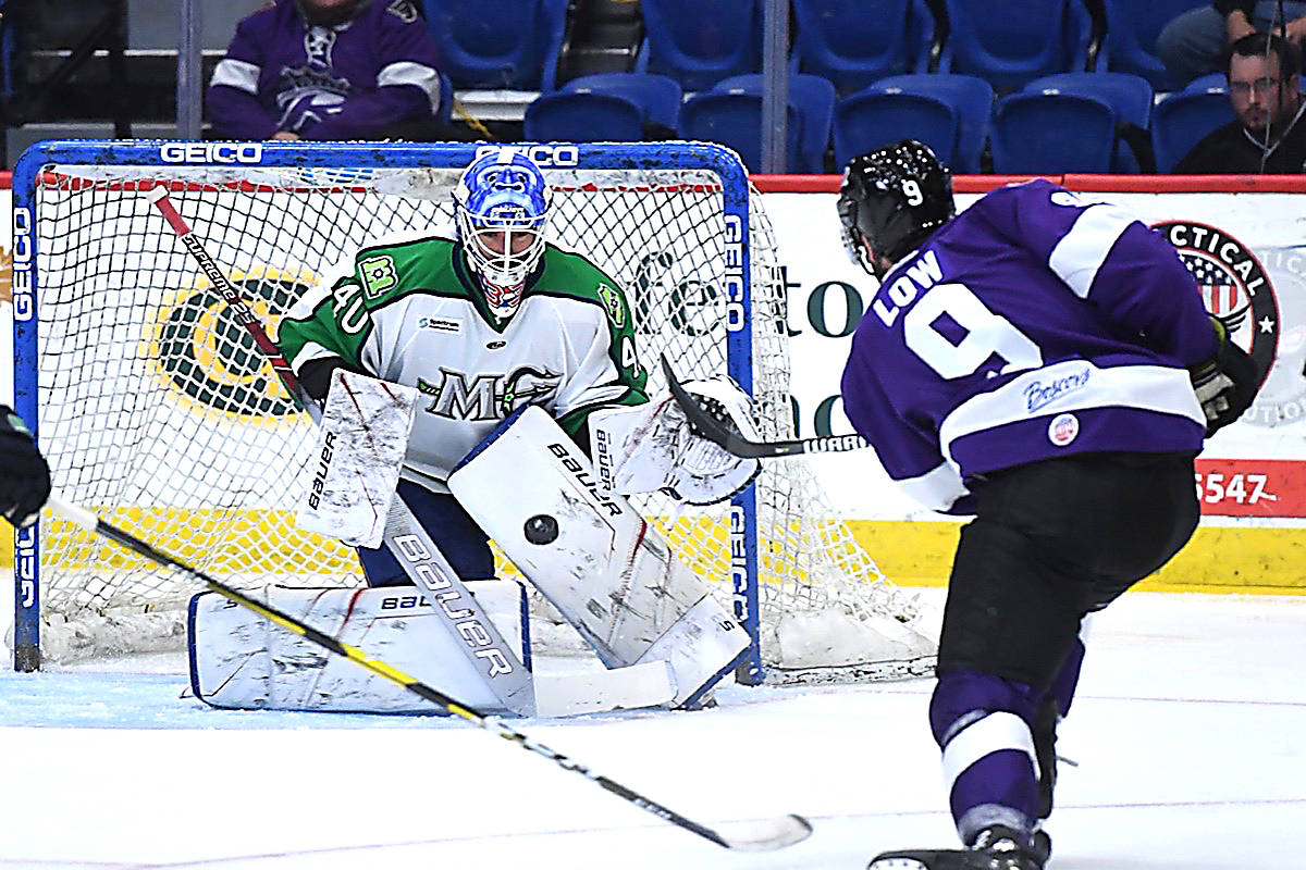 Goalkeeper Connor LaCouvee of Qualicum Beach has joined the Tucson Roadrunners of the American Hockey League. (Submitted photo)