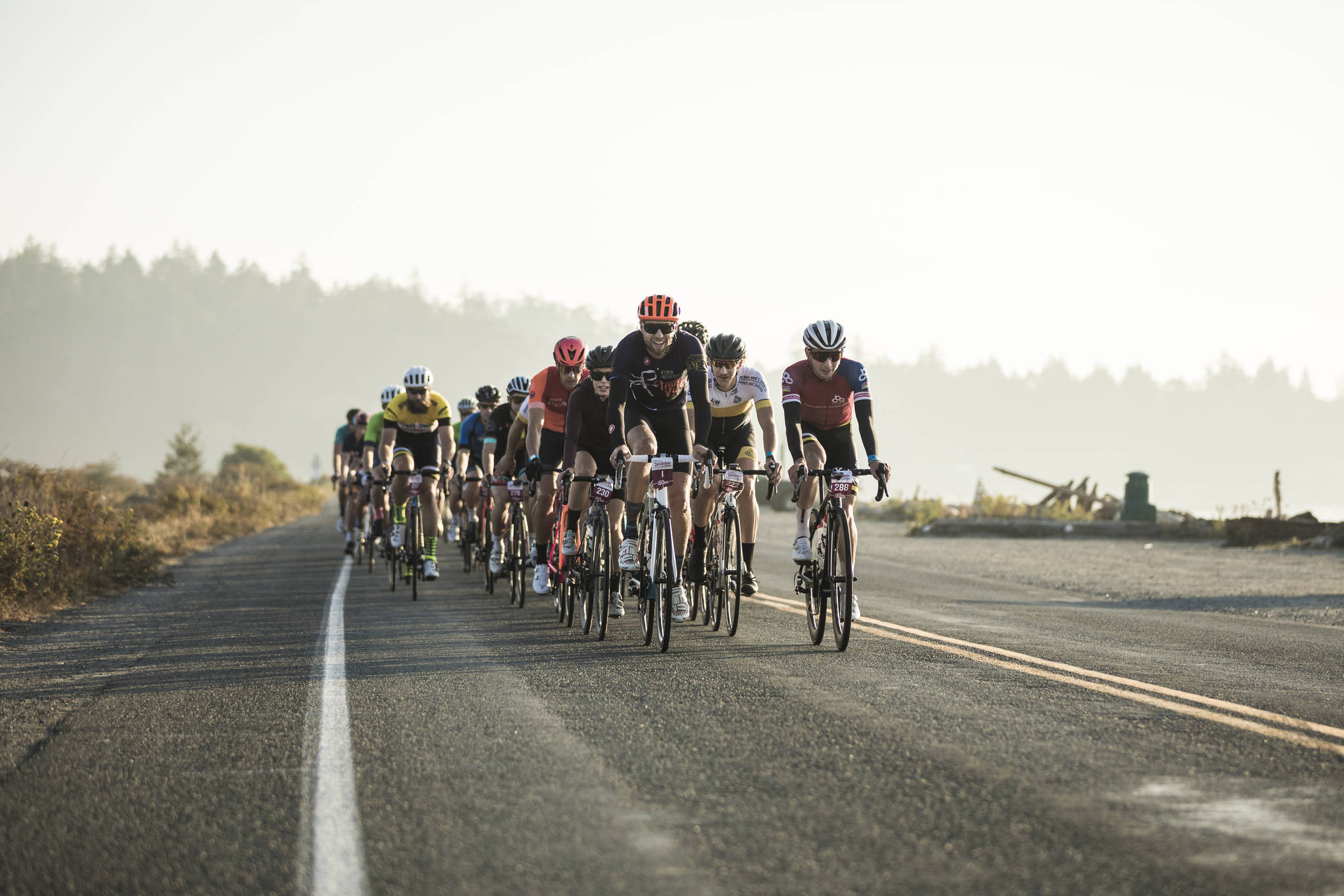Cyclists take part in a previous edition of Ryder Hesjedal's Tour de Victoria. The event, cancelled in 2020 due to COVID-related public health regulations, has moved from August to October for this year. (Photo contributed)