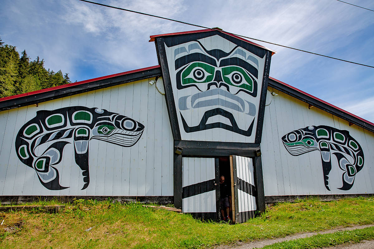 Kwikwasut'inuxw Haxwa'mis First Nation's conservation endowment will provide access to local, family-supporting endowment based out of Gwa-yas-dums (Gilford Island). Photo by Brodie Guy.