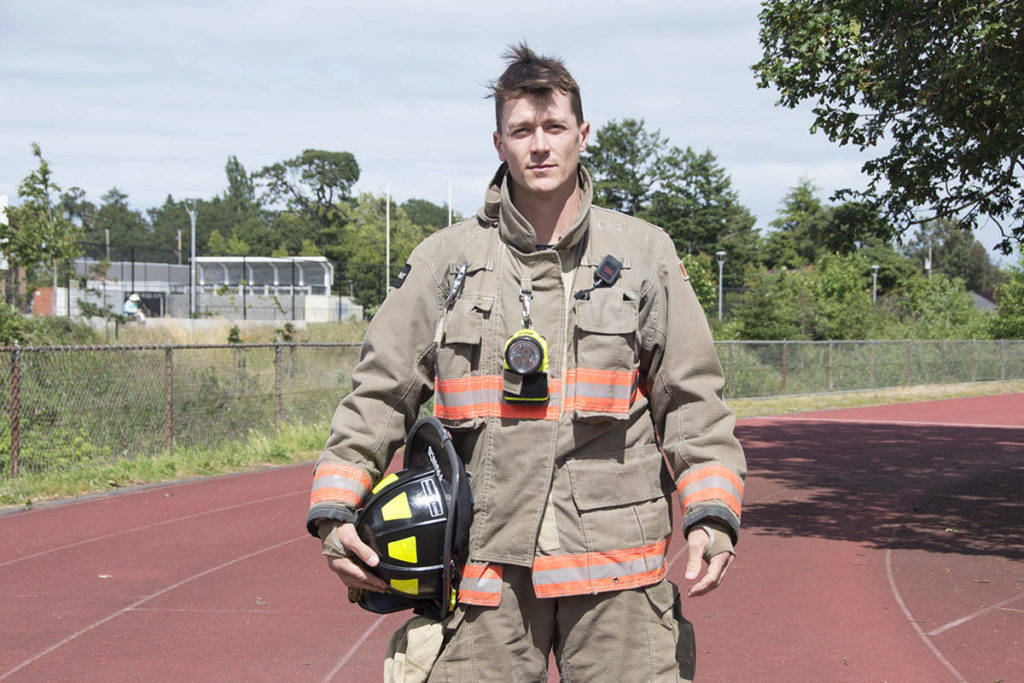 Trent Frankel is the Oak Bay Firefighters Charitable Foundation executive director. (Black Press Media file photo)