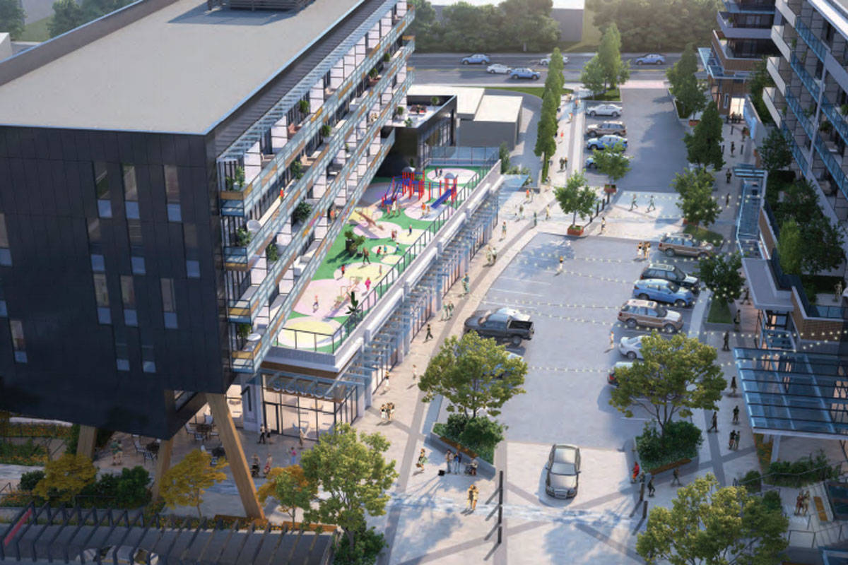 Wesbild has submitted finalized plans for the University Heights redevelopment project. (Photo courtesy Wesbild Holdings Ltd.)