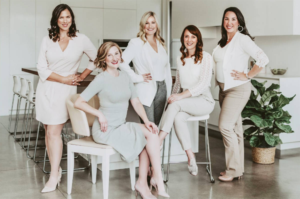 The Modern Real Estate Team is hosting its ninth annual Raise the Roof for Shelter fundraiser for women's shelters, this time with an online auction. (Courtesy Modern Real Estate Team)