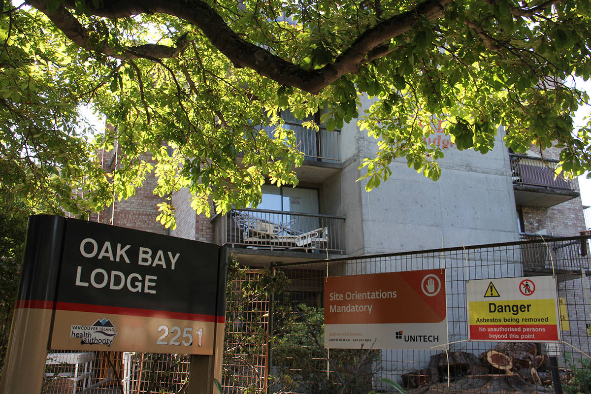 Consultation for the redevelopment of the Oak Bay Lodge property continues. (Black Press Media file photo)