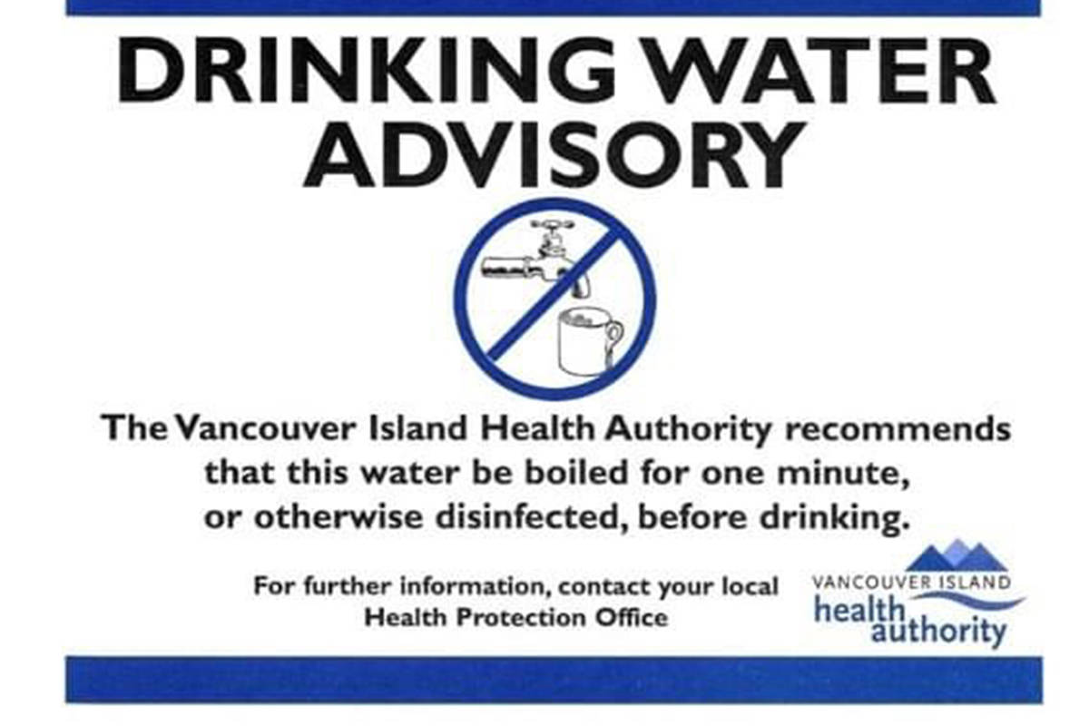 A boil water advisory has been issued by the Town of Port McNeill. (Town of Port McNeill Facebook photo)