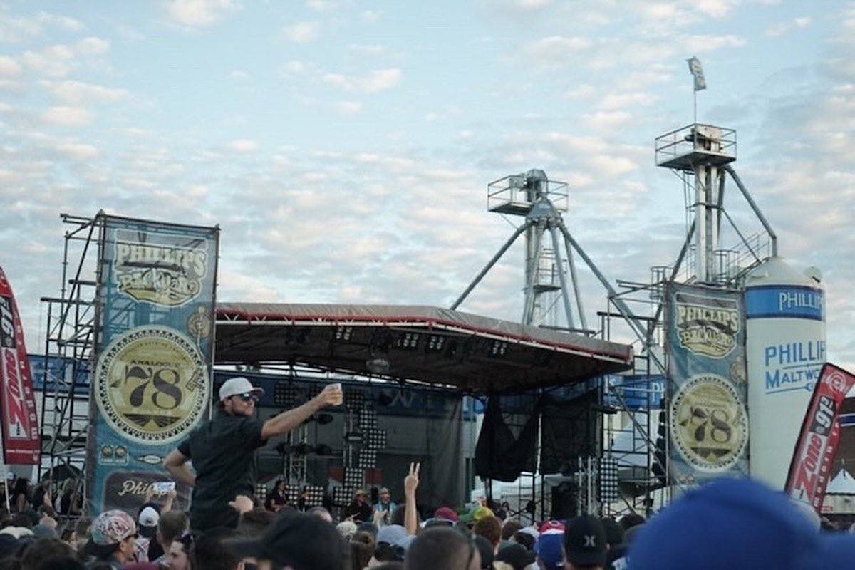 Phillips Brewery is postponing its Backyard Double Header event as COVID-19 cases continue to rise, it announced Aug. 20. (Photo courtesy of Phillips Beer/Twitter)