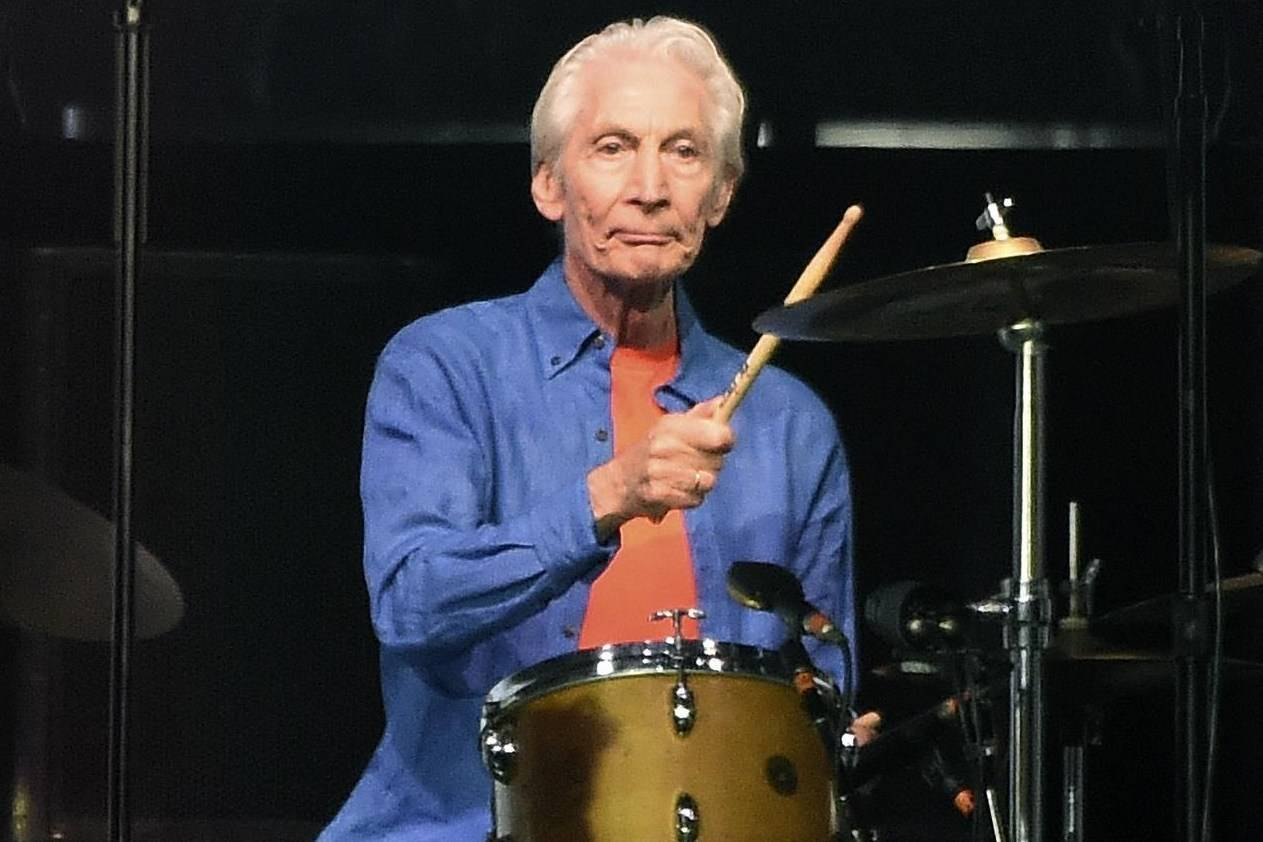 FILE - Rolling Stones drummer Charlie Watts performs at the Rose Bowl, Thursday, Aug. 22, 2019, in Pasadena, Calif. Watts died in London on Tuesday, Aug. 24, 2021 at age 80. (AP Photo/Chris Pizzello, File)
