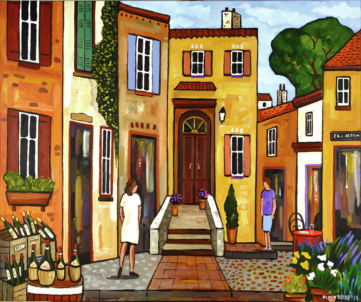 Hello Dear Neighbour by Alain Bédard is one of the works featured this month at West End Gallery. (Courtesy West End Gallery)