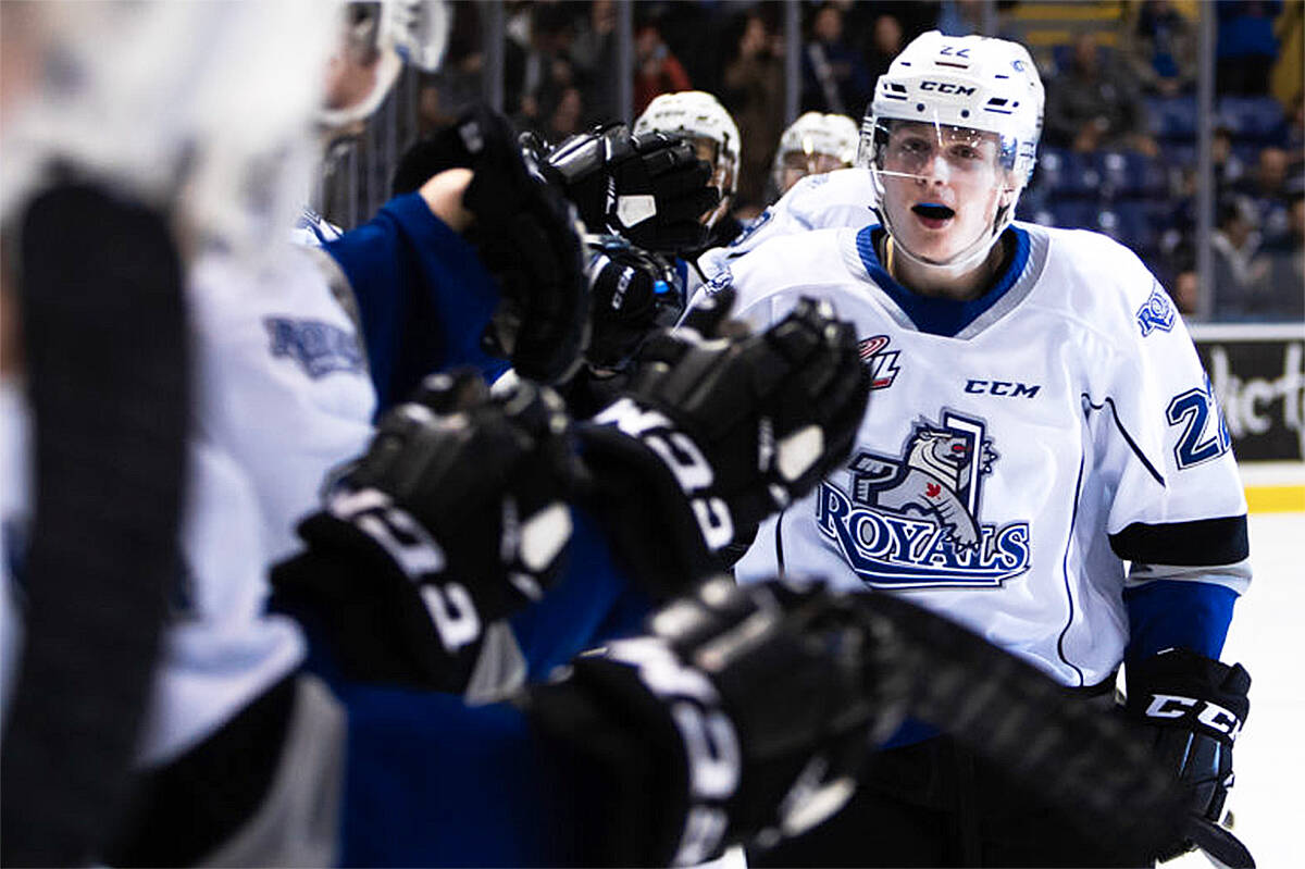 The Victoria Royals begin their WHL exhibition schedule this weekend in Kelowna, and host the Prince George Cougars on Sept. 25 at Save-On-Foods Memorial Centre. (Kevin Light/Courtesy Victoria Royals)