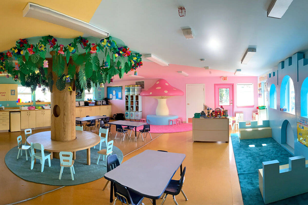 The West Shore Parks and Recreation preschool got a lasting makeover after the Netflix show Maid used it for filming in February. (Courtesy Alexandra Matthew)